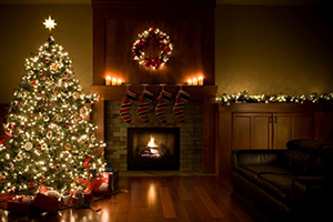 christmas-tree-wreath-and-garland-inside-living-room