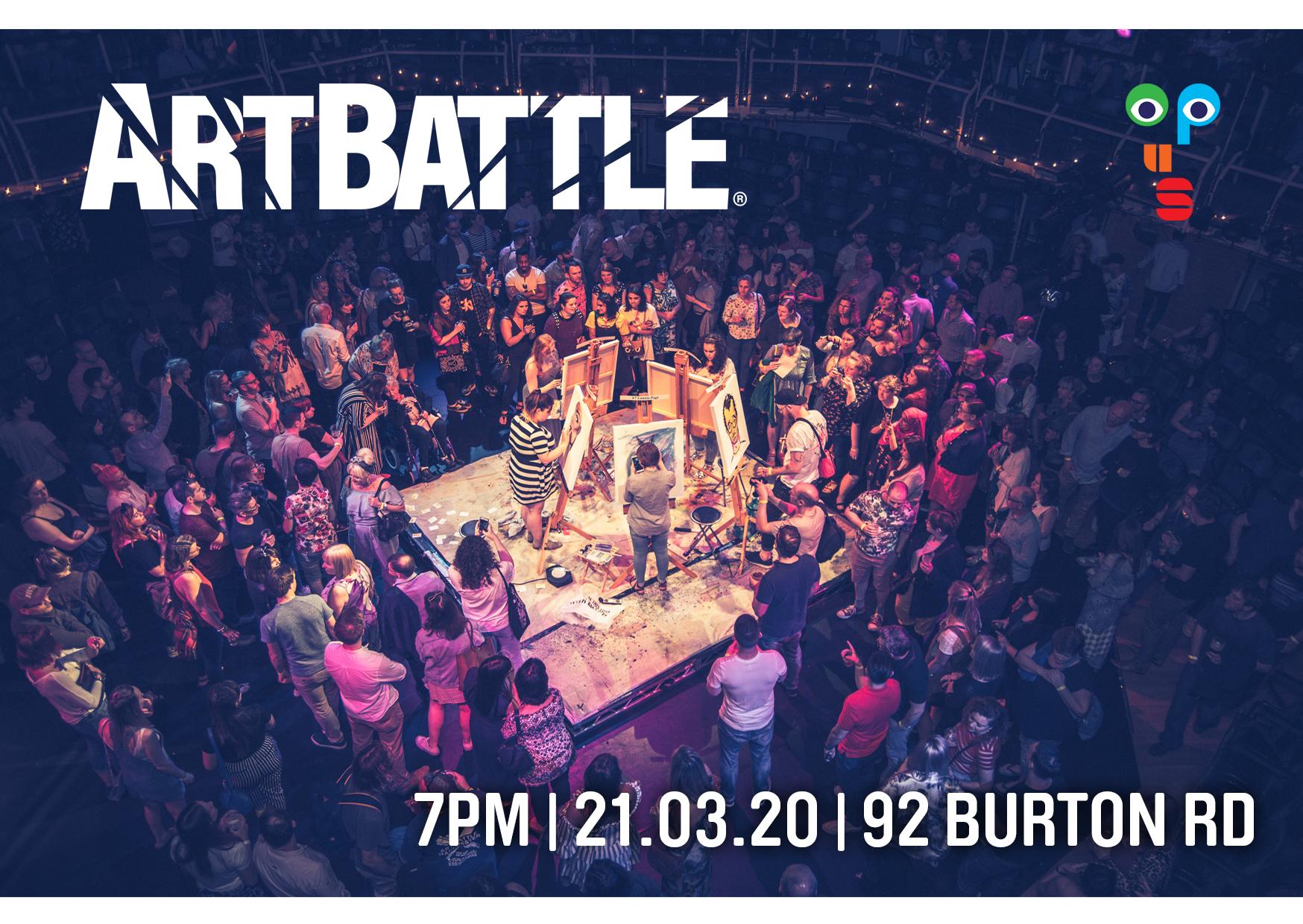 Art Battle - Sheffield, UK